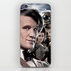 Doctor Who -11th Doctor iPhone & iPod Skin