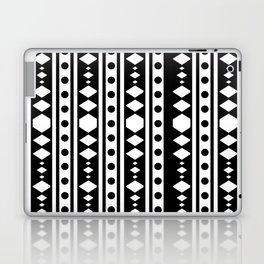 White tribal pattern Laptop & iPad Skin