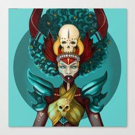 Voodoo Fantasy Canvas Print