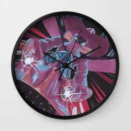Daring Duck of Mystery Wall Clock