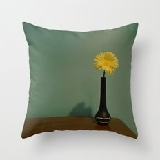 Flower In the Open Throw Pillow