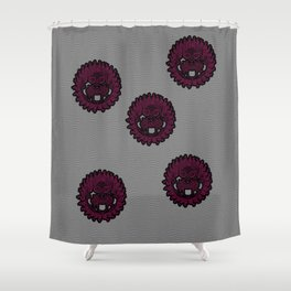 Gorgon Medusa Shower Curtain