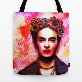 Viva Frida  Tote Bag