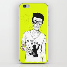 hipsters not dead iPhone & iPod Skin