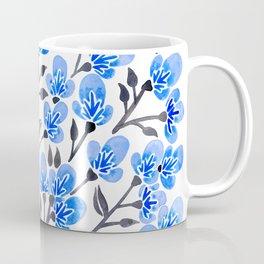 Cherry Blossoms – Blue Palette Coffee Mug