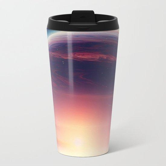 Jupiterian sunset Metal Travel Mug