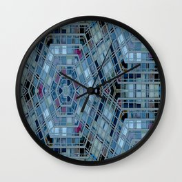 Urbanika 1 by Lika Ramati Wall Clock