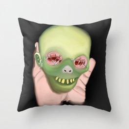 Heaping Hand Throw Pillow