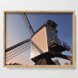 1745 Windmill sundown Serving Tray