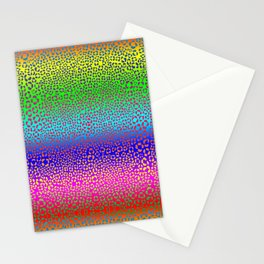 Wild Thing Rainbow Leopard Print Stationery Cards
