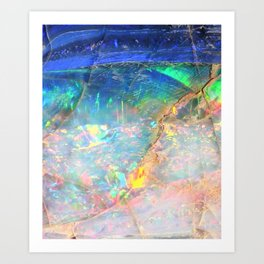 Ocean Opal Art Print