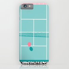 Baller - tennis sports retro pastel palm springs vacation athlete full court memphis style throwback iPhone 6s Slim Case