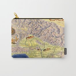 The old Spanish and Mexican ranchos of Los Angeles County Carry-All Pouch