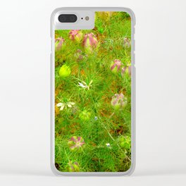 """Love in the Mist"" by ICA PAVON Clear iPhone Case"