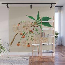 Fugen's Elephant Cherry Blossoms Wall Mural