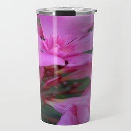 Pink Oleander Flower  Travel Mug