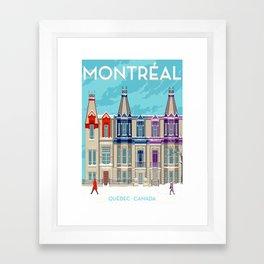 Montreal - Quebec - Canada Framed Art Print
