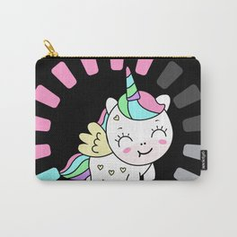 Unicorn Magic Loading Cute Animals Mythical Carry-All Pouch