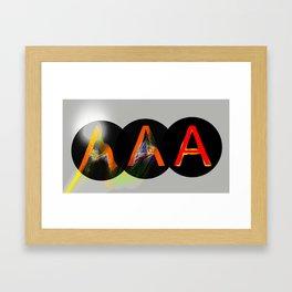 America's Credit Note II Framed Art Print