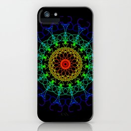 Raay Mandalla 131 iPhone Case