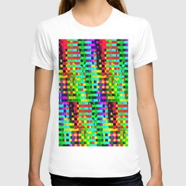 Abstract color background T-shirt