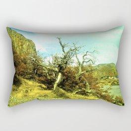 Dries the nature. Rectangular Pillow