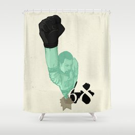 Statue of Liberty '68 Shower Curtain