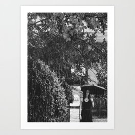 Don't rain on my parade Art Print