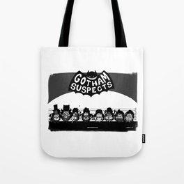Unusual suspects : Batman Tote Bag