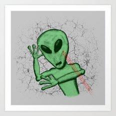 Alien vs. Predator Art Print