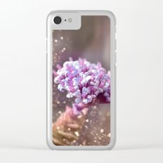 Pastel vibes floral IV Clear iPhone Case
