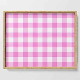 Pink Buffalo Check - more colors Serving Tray