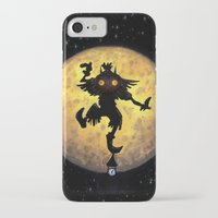 majora iPhone & iPod Cases featuring majora mask by neutrone