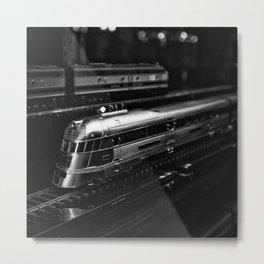 Trains Metal Print