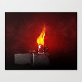 Red Lighter Canvas Print