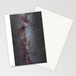 North America Nebula: the Milky way, from Cygnus to Perseus and Andromeda galaxy. Stationery Cards