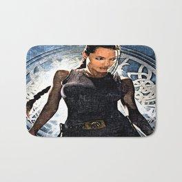 Angelina Jolie as Lara Croft Bath Mat