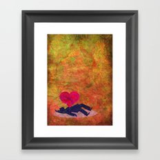 Deadly Love Framed Art Print