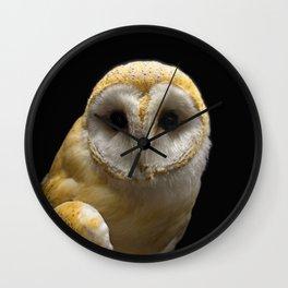 Owl_20180211_by_JAMFoto Wall Clock