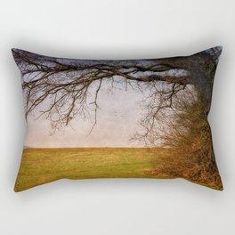 Edgefield to Hunworth Scenic Route Rectangular Pillow