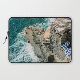 "Travel photography print ""Rocky Beach"" photo art made in Italy. Art Print Laptop Sleeve"