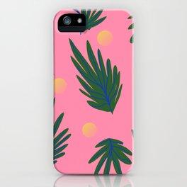 Leaf design iPhone Case