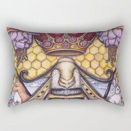 Bee The Light by DeeDee Draz Rectangular Pillow