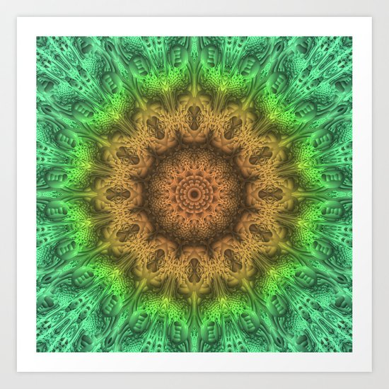 Have an Impact Mandala Art Print