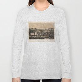 University of Virginia, Charlottesville & Monticello (1856) Long Sleeve T-shirt
