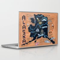 looking for alaska Laptop & iPad Skins featuring ALASKA by Christiane Engel
