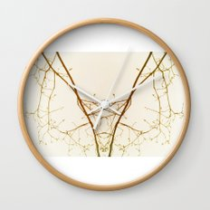 branches#01 Wall Clock