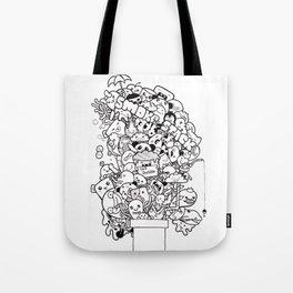 Ink Stack Tote Bag