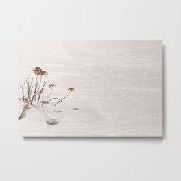 Stone-Peng Style Snow Metal Print