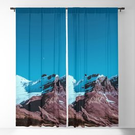 Clear Blue Bright Night Sky Blackout Curtain
